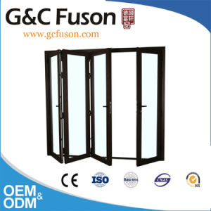 Power Coated Aluminum Folding Door for House pictures & photos