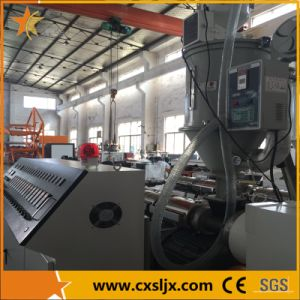 50-250mm Drainage Plastic Double Wall PE Corrugated Pipe Production Line pictures & photos