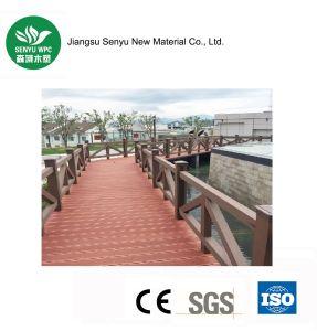 100*100mm Wood Plastic Composite Fence Railing pictures & photos