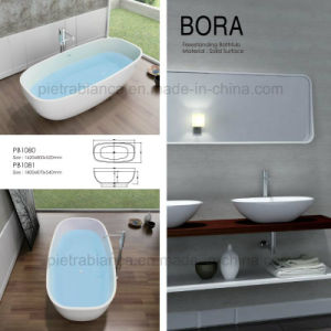 2017 New Modern High Quality Solid Surface Bathtub (PB1080N) pictures & photos