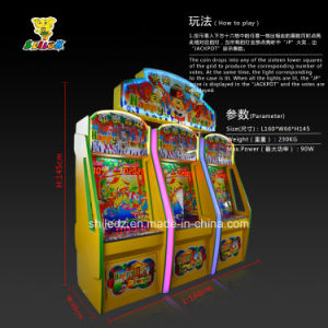 Happy Timber Coin Operated Amusement Park Redemption Arcade Game Machine pictures & photos