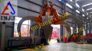 Electric Hydraulic Orangel Peel Grab Bucket Fortraveling Crane pictures & photos