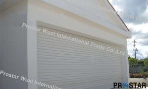 Windproof Roller Door Shutter with PU Foam Insulating Function pictures & photos