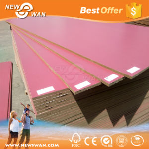 Melamine Paper Faced E1 MDF Board for Decoration pictures & photos