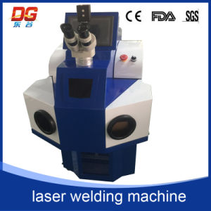 Economic and Efficient Jewelry Spot Welding Machine (built-in chiller type) 100W pictures & photos