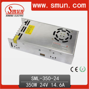 350W 24V14.6A Single Output Switching Power Supply for LED Lighting pictures & photos