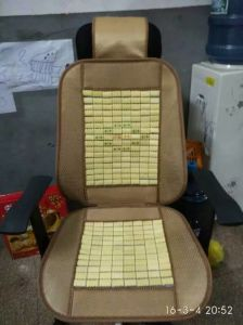 Hotsales Cheap Low Cost Grass Woven Bamboo Car Seat Cover pictures & photos