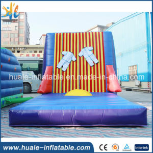 Inflatable Jump Wall Magic Inflatable Stick Wall with Suit for Kids and Adults