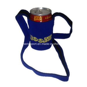 Christmas Gift Custom Neoprene Can Holder with Strap (SNCC66)