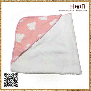D-026 Baby Animal Printed Hooded Bath Towel