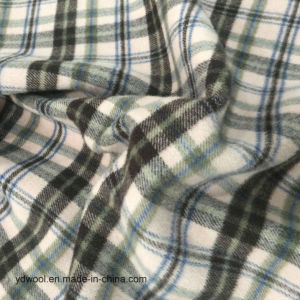 Double Face Check Wool Fabric Stock pictures & photos