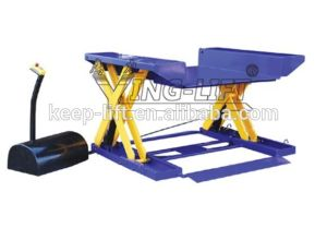 Electric Hydraulic Zero Level Lifting Table pictures & photos