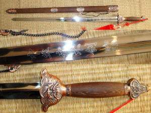 Chinese Stainless Tai Chi Sword for Martial Arts Practice pictures & photos
