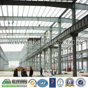 Steel Building Prefabricated Steel Structure Construction for Workshop pictures & photos