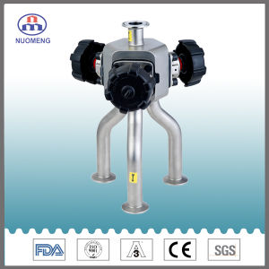 Multiple Channels More-Way Manual Diaphragm Valve (customized) pictures & photos