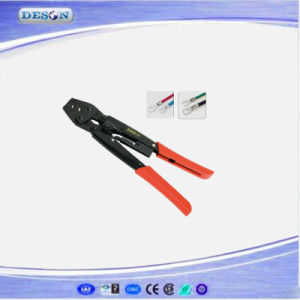 Japan Ratchet Hand Crimping Plier for Non-Insulated Cable Links pictures & photos