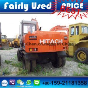 Used Hitachi Ex100wd-2 Tyre Excavator