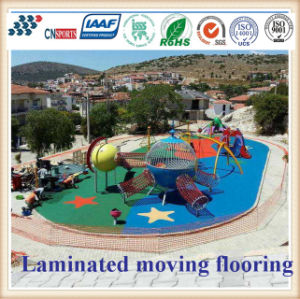 EPDM Granules Elastic and Colorful Rubber Flooring for Playground Application pictures & photos
