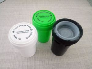 Plastic Bottle Dual Cap Reversible Vials pictures & photos