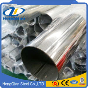 Decorative 201 304 Stainless Steel Pipe Tube pictures & photos
