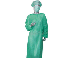 Disposable Medicl Non Woven Gown pictures & photos