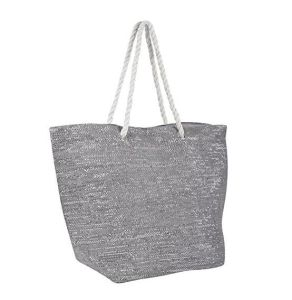 Ladies Canvas Beach Shoulder Bag Holiday Tote Shopping Reuseable Handbag pictures & photos