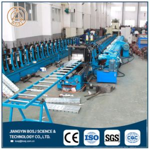 Marine Steel Scaffolding Planks Platform Walkboard Roll Forming Production Machine pictures & photos