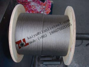 316 Stainless Steel Wire Rope 7X37 pictures & photos