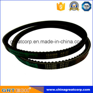 Car Parts Rubber Cogged Belt Ax23 pictures & photos
