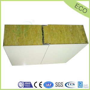 galvanized steel sheet rockwool corrugated panel for roof panel