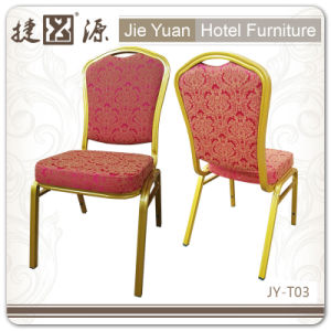 Gold Hotel Meeting Banquet Chairs (JY-T03) pictures & photos