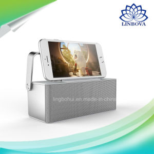 Phone Holder Box Shape Mini Portable Wireless Speaker with FM pictures & photos