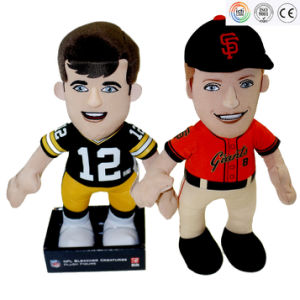 Football Basketball Player Plush Doll Custom Plush Doll pictures & photos