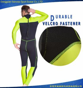 Neoprene Cheap Full Sleeve Flexible Snorkeling Wetsuit for Men pictures & photos