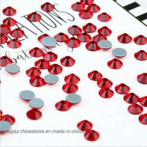 Ss16 4mm Siam Red Crystal Rhinestone Fabric Rhinestone Hotfix Rhinestone (HF-ss16 siam/4A) pictures & photos