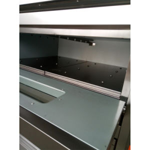 Wholesale Gas Bakery Equipment Deck Pizza Oven for Baking 2decks 4trays pictures & photos