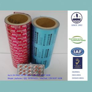 Medicine Packaging Aluminum Foil in 0.024mm Thickness with Alloy 8011