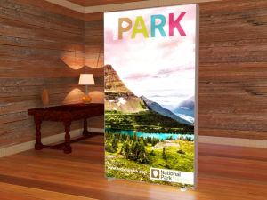 Vector Frame Backlit Display Economy Freestanding Light Box Totem Signs pictures & photos