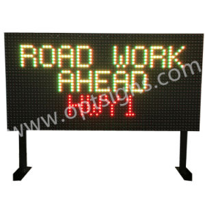Outdoor Electronic Variable Traffic Message Open LED Sign Board pictures & photos