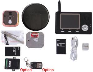 3.5 Inch Peephole Wireless Video Door Phone pictures & photos