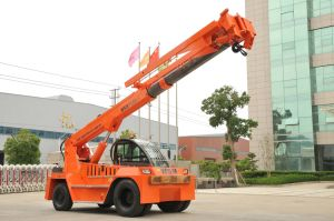 12 Tons Telescopic Boom Forklift Truck Crane with Ce pictures & photos