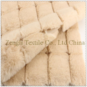 Block 100% Polyester of Woolen Overcoat Fabric pictures & photos