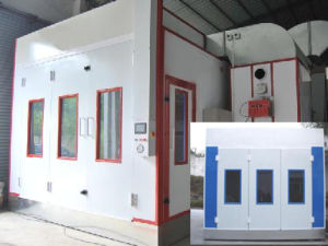 Environment Paint Booth Ce Standard High Work Efficiency pictures & photos