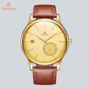 Fashion Stainless Steel Watch Brand Leather Strap Watches Automatic Mechanical Wrist Watch Men 72737 pictures & photos