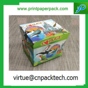 Elegant Custom Printed Paper Gift Candle Box for Packaging pictures & photos