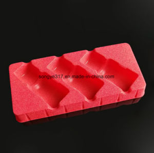 Flocking PS Plastic Packaging for Health Care Products pictures & photos
