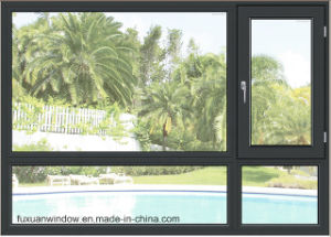 French Style Aluminum Tilt and Turn Windows pictures & photos