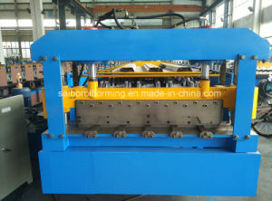 Decking Roll Forming Machine with Decoiler pictures & photos