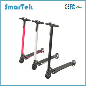 Smartek Lightest Foldable Urban Carbon Fiber Aluminum Electric Scooter Patinete Electrico S-020 pictures & photos