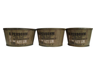Army Green Factory Direct Quality Practical Flower Pot